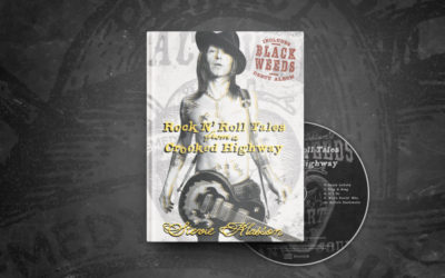 Rock'N'Roll Tales From a Crooked Highway' de Stevie Klasson Libro y CD
